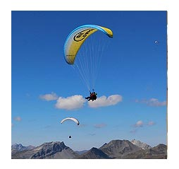 paragliding in dharamshala and dalhousie